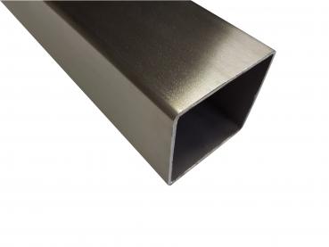 Montageset 40 x 1180 mm seite gebohrt, matt geschliffen Edelstahl /Übergangsprofil seitlich gebohrt 40 x 1180 mm 7,19/€//m matt geb/ürstet inkl