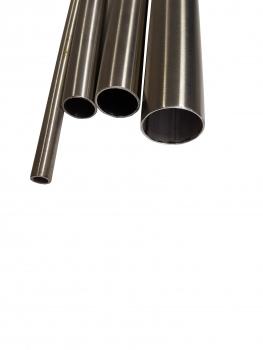 K240 L/änge 25mm 2,5cm auf Zuschnitt Edelstahl Rundrohr V2A /Ø 8x1mm