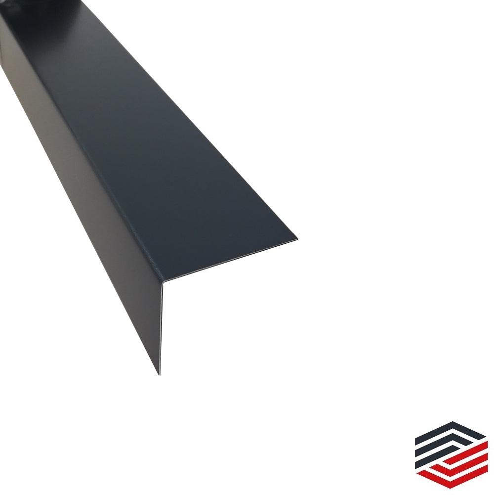 Aluminium Riffelblech Winkelprofil 2 Meter Alu Winkel Kantenschutz 40 x 40 mm