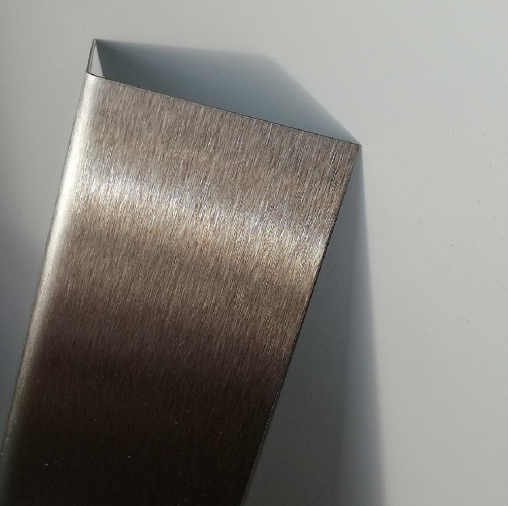 Winkel Innenma/ß 15x40mm Edelstahl Winkel Profil K240 geschliffen 2000m lang 0,8mm stark V2A Eckenschutz Winkelprofil