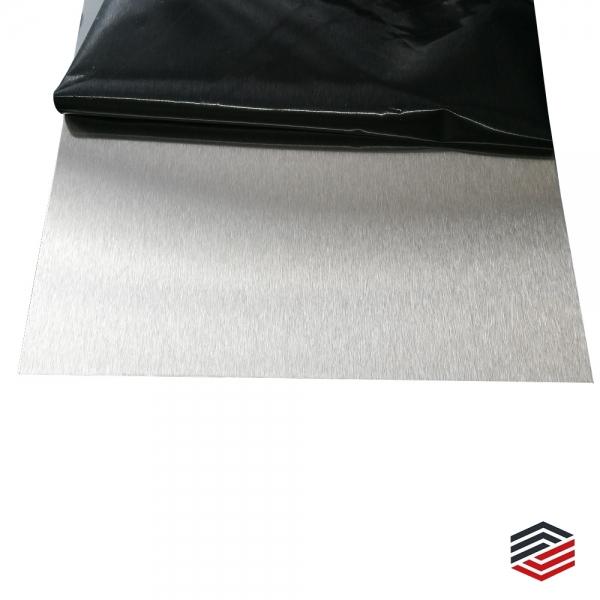 frei konfigurierbar Gr/ö/ße 50-1500mm 350 mm Ronde /Ø42,4x2mm rostfreier Edelstahl | geschliffen K240 | wetterbest/ändiger Treppenhandlauf | runde Treppenhalterung Edler Handlauf